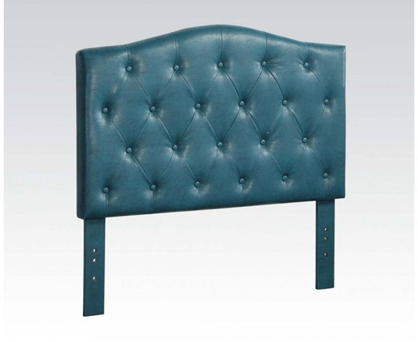 Viola Contemporary Blue PU Twin Headboard Only ACM-39128