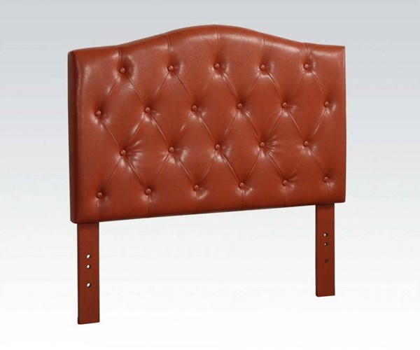 Viola Contemporary Red PU Queen/Full Headboard Only ACM-39129