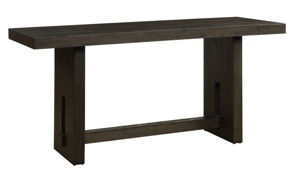 Acme Furniture Haddie Distressed Walnut Counter Height Table ACM-72220
