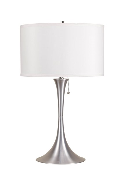 Acme Furniture Cody Brushed Silver Table Lamp ACM-40023
