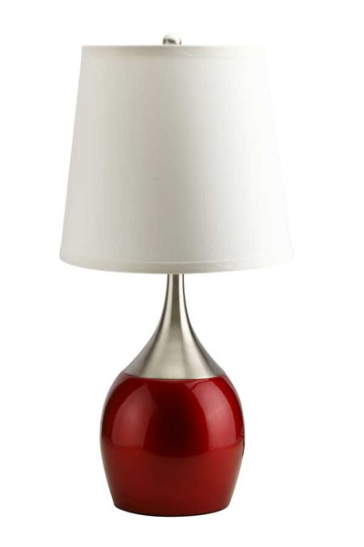 4 Acme Furniture Willow Red Table Lamps ACM-40029