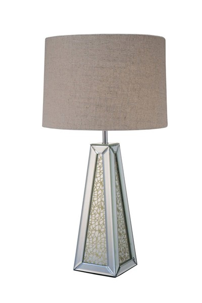 Acme Furniture Britt Light Brown Shaded Table Lamp ACM-40123
