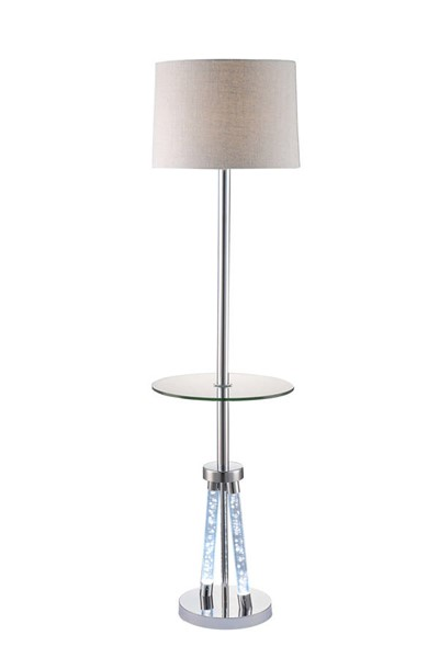Acme Furniture Cici Chrome Floor Lamp ACM-40125