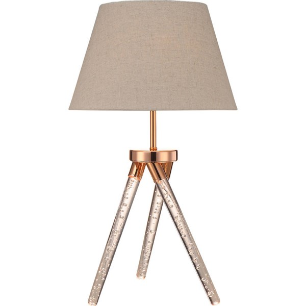 Acme Furniture Cici Rose Gold Table Lamp ACM-40134