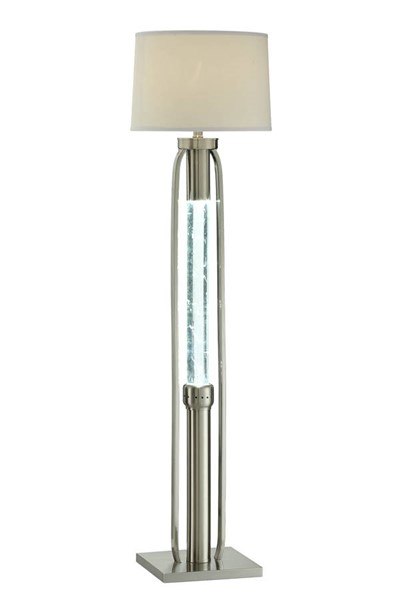 Acme Furniture Sinkler Sandy Nickel Floor Lamp ACM-40150