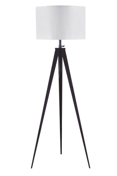 Acme Furniture Glynn White Black Floor Lamp ACM-40205