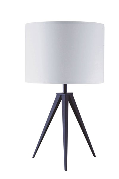 Acme Furniture Glynn White Black Table Lamp ACM-40206
