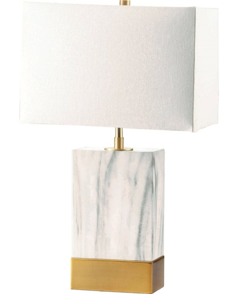 Acme Furniture Libe White Satin Gold Table Lamps ACM-402-TLP-VAR