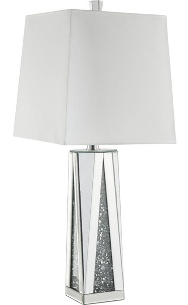Acme Furniture Noralie White Square Table Lamp ACM-40218