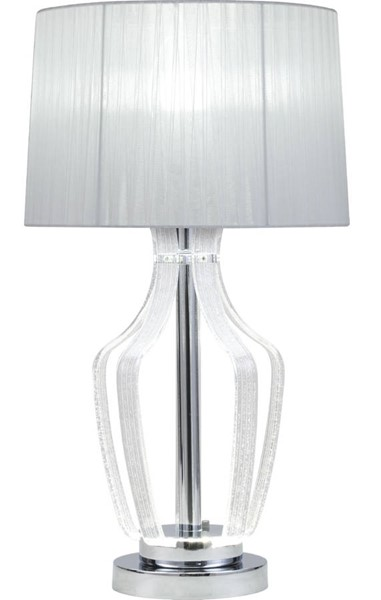 Acme Furniture Mathilda Clear Chrome Table Lamp ACM-40343