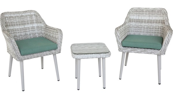 Acme Furniture Tashay Green Beige 3pc Pack Bistro Set ACM-45005