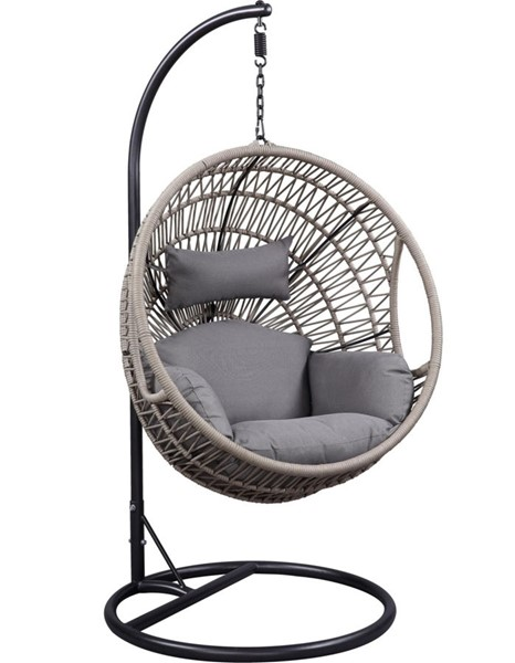 Acme Furniture Vasant Patio Swing Chair with Stand ACM-45088