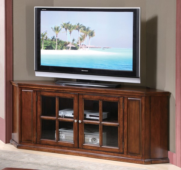 Acme Furniture Malka Oak Corner TV Stand ACM-48618