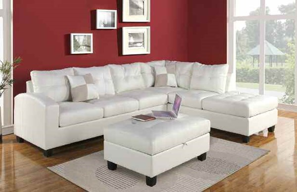 Acme Furniture Kiva Sectional Sofas ACM-51175-LF