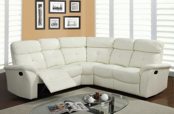 Acme Furniture Lawrence Light Beige Motion Sectional Sofa ACM-51650