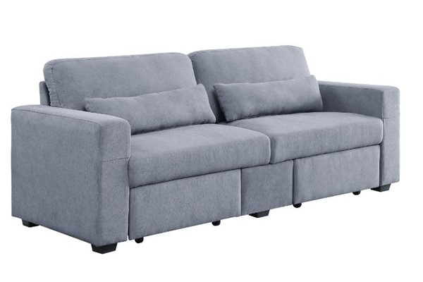 Acme Furniture Rogyne Gray Storage Sofa ACM-51895