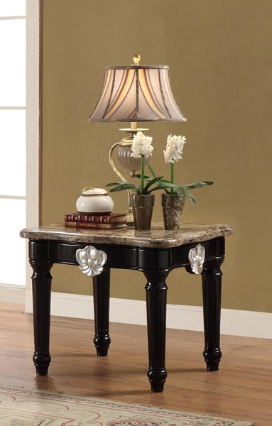 Acme Furniture Ernestine Black End Table ACM-82152