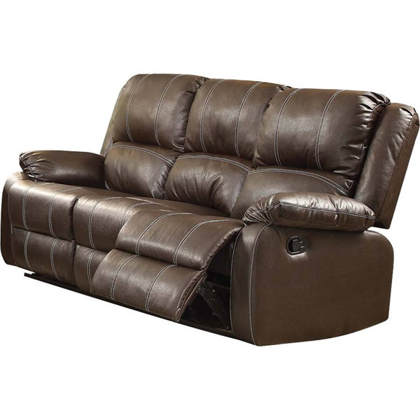 Acme Furniture Zuriel Brown Motion Sofa ACM-52280