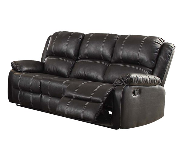 Acme Furniture Zuriel Black Motion Sofa ACM-52285