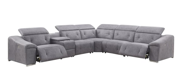 Acme Furniture Hosta Gray Sectional ACM-52485