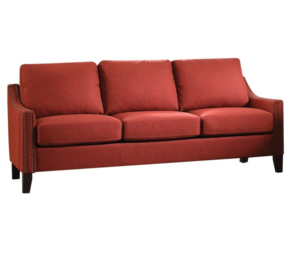 Acme Furniture Zapata Red Sofa ACM-52490