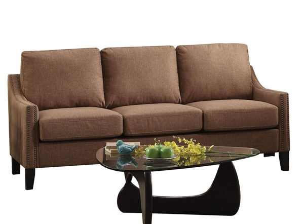 Acme Furniture Zapata Brown Sofa ACM-52495