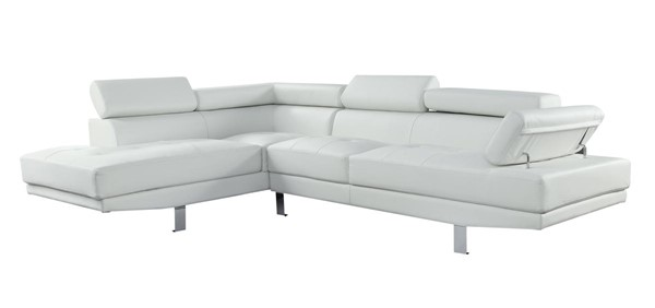 Acme Furniture Connor Cream Sectional Sofa ACM-52645