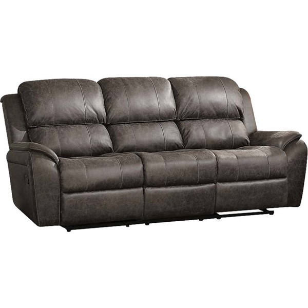 Acme Furniture Barnaby Gray Motion Sofa ACM-52880