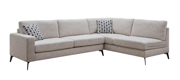 Acme Furniture Crocosmia Beige Sectional ACM-53100