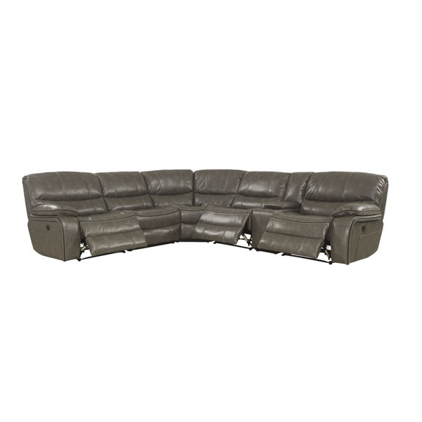 Acme Furniture Brax Taupe Power Motion Sectional Sofa ACM-53510