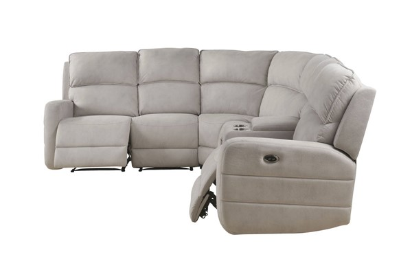 Acme Furniture Olwen Cream Sectional ACM-53920