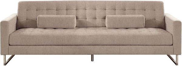 Acme Furniture Sampson Beige Sofa with Pillows ACM-54180