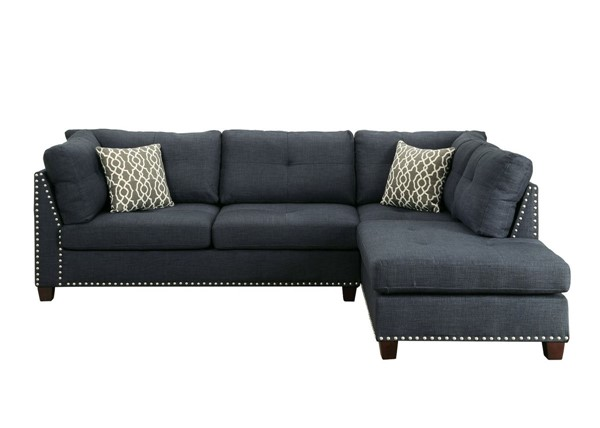 Acme Furniture Laurissa Sectional Sofas and Ottoman ACM-5436-SEC-V1