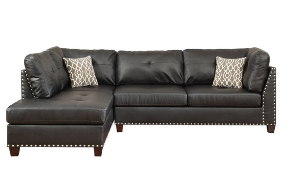 Acme Furniture Laurissa Brown RAF Sectional Sofa ACM-54405