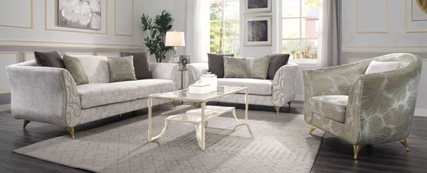 Acme Furniture Wilder Beige 3pc Living Room Set ACM-5443-LR-S1
