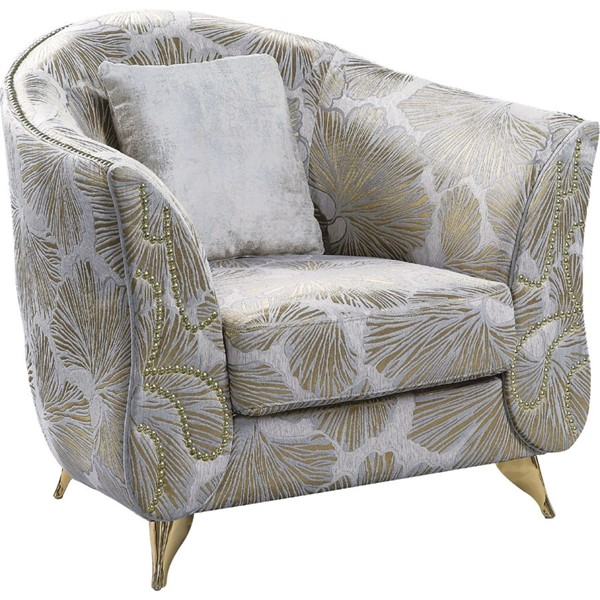 Acme Furniture Wilder Beige Chair with 1 Pillow ACM-54432