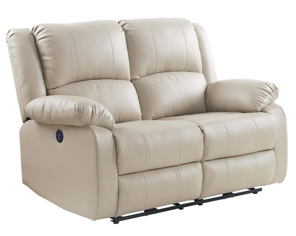 Acme Furniture Zuriel Beige Power Motion Loveseat ACM-54611