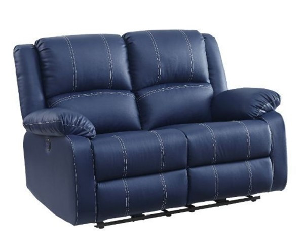 Acme Furniture Zuriel Blue Power Motion Loveseat ACM-54616