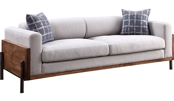 Acme Furniture Pelton Walnut Sofa ACM-54890