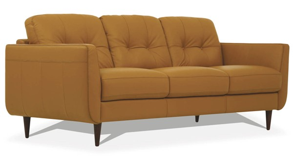 Acme Furniture Radwan Camel Leather Sofas ACM-5495-SF-VAR