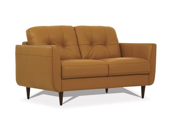 Acme Furniture Radwan Camel Leather Loveseat ACM-54956