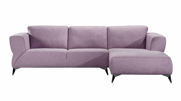 Acme Furniture Josiah Pale Fabric Sectional Sofa ACM-55090