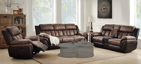 Acme Furniture Jaylen Toffee Espresso 3pc Living Room Set ACM-5542-LR-S2