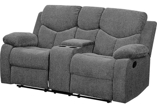 Acme Furniture Kalen Gray Loveseat with Console ACM-55441