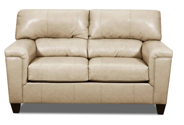 Acme Furniture Phygia Tan Leather Loveseat ACM-55761