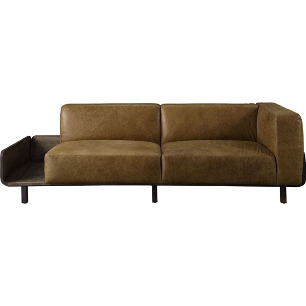 Acme Furniture Blanca Chestnut Rustic Oak Sofa ACM-56500