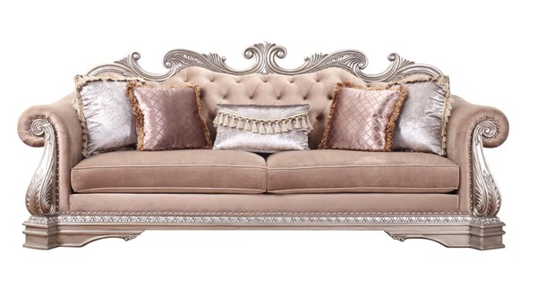 Acme Furniture Northville Antique Champagne Sofa ACM-56930