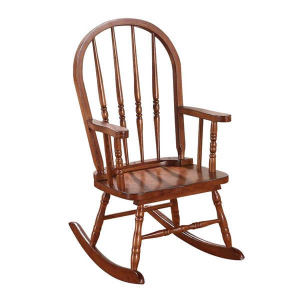 Acme Furniture Kloris Tobacco Youth Rocking Chair ACM-59215