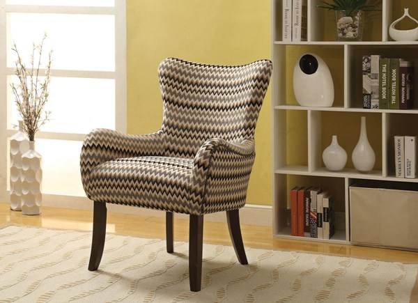 Gabir Fabric Wood Padded Seat & Back Accent Chairs ACM-5939-40-AC-VAR