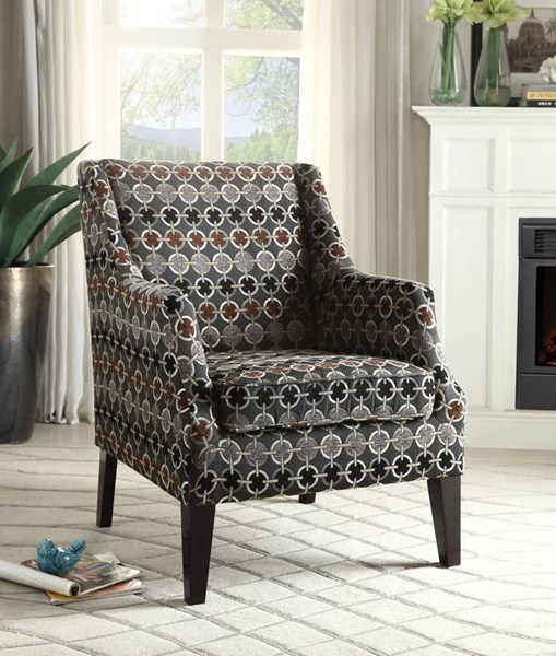 Zarate Contemporary Fabric Tight Seat Accent Chair ACM-59442